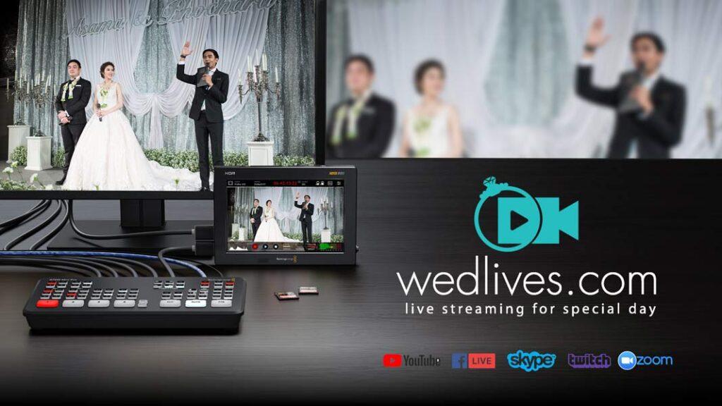 รับ Live สด งานแต่ง Wedding Live Streaming Services in Thailand
