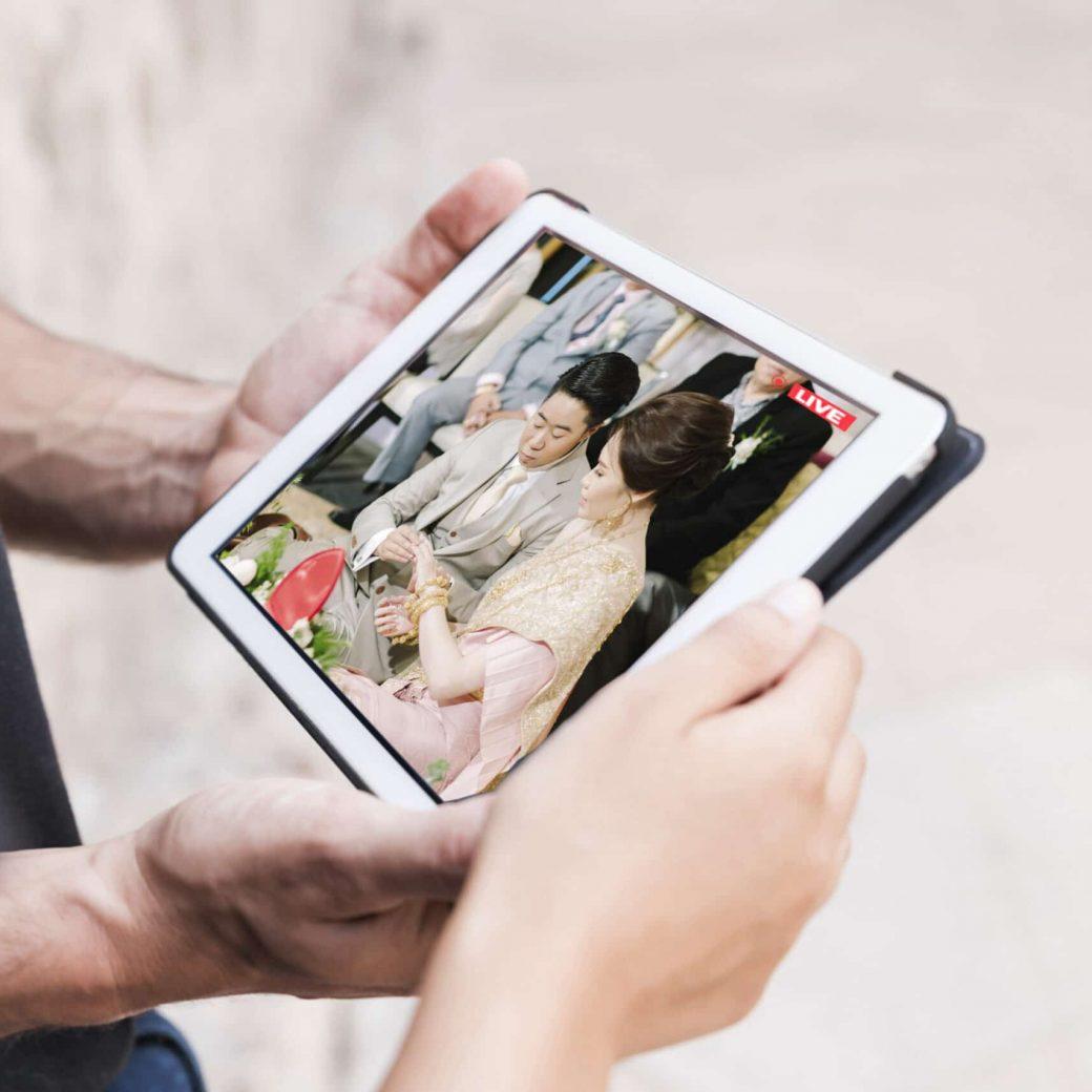 ipad Live สด งานแต่ง